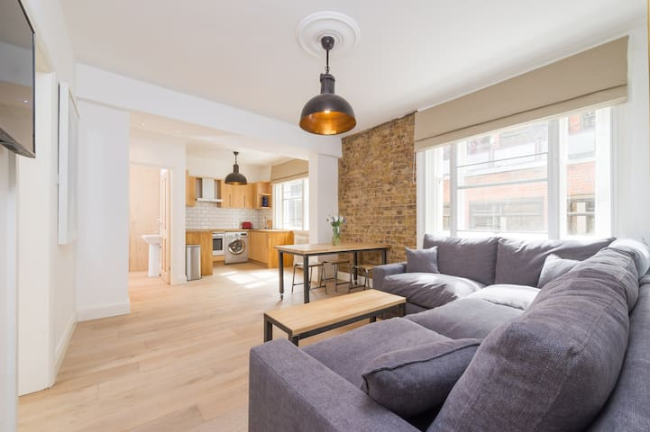 Newly refurbished, central London apartment