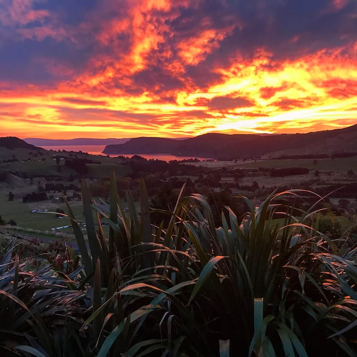 Views over Whakaipo Bay