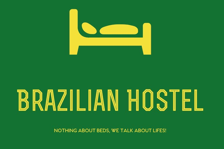 B8) Brazilian Hostel Shared 4 beds L4