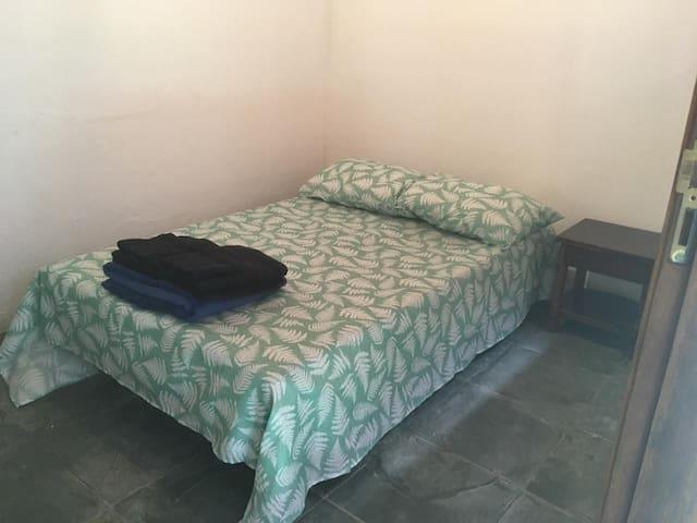 Sofa cama na edícula com Suite
