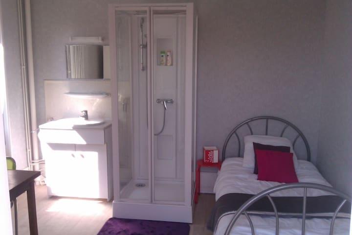 Colocation avec 2 chambres individuelles