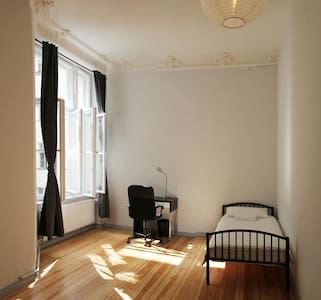 Clean & bright single room, Berlin - Lägenhet