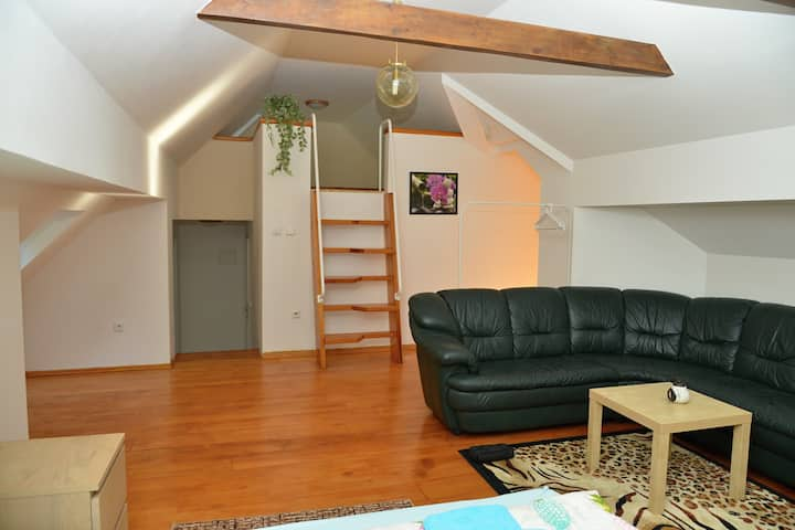 Podkrovní apartmán pro 4 Pintovka