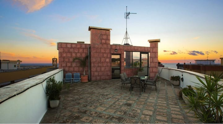 Penthouse with roof terrace and sea view - Residence Baia Blu - Fiordaliso