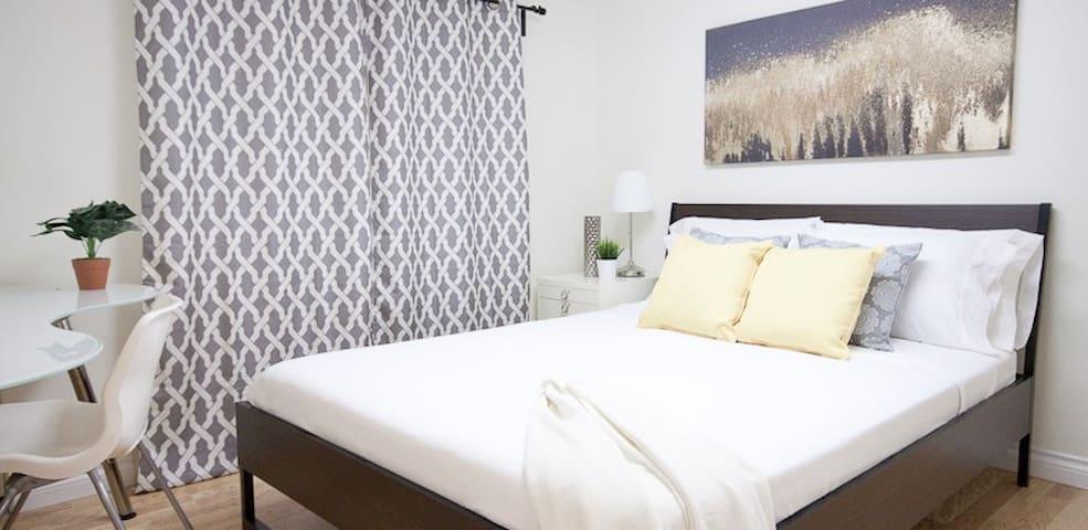 3BR Homey Suite with BBQ Patio, WIFI, Garden, Park - Vancouver - Guest suite