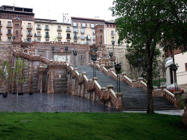 Bonito piso céntrico y soleado. - Teruel - Daire
