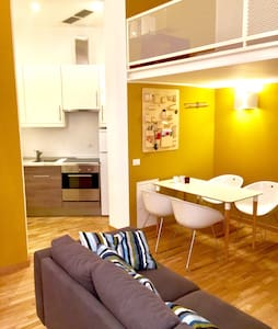 "New and modern 4 bed loft in ""Naviglio Martesana"" - Milano - Loft"