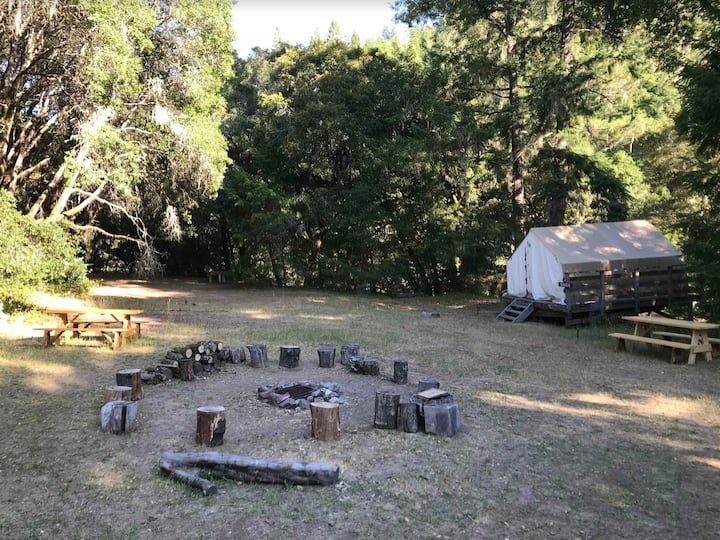 Campground Tent Cabin w/ access to the River