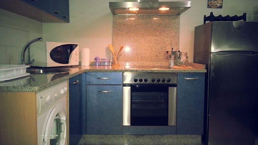 cocina privada totalmente equipada.