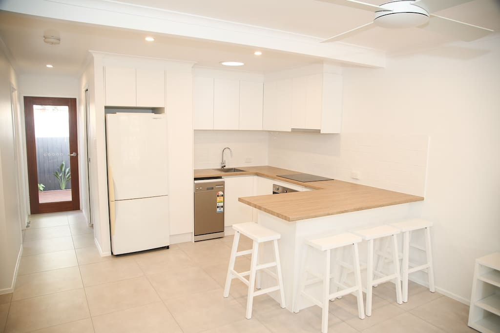 kitchen / dining space
