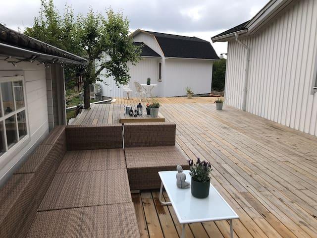 Ljuvligt vår-sommarboende i skärgården/Brännö!