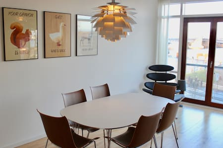 Exclusive apartment with sea view and parking - Aalborg