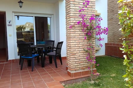 Bajo con jardin & SPA center - Vera