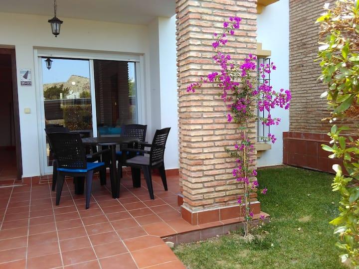 Bajo con jardín en Al Andalus Thalassa