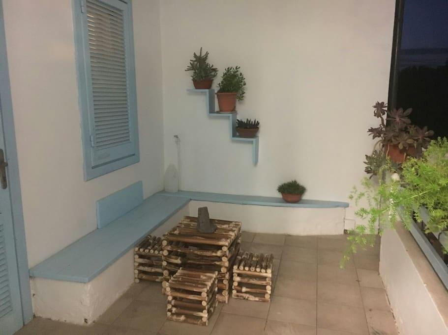 ingresso veranda