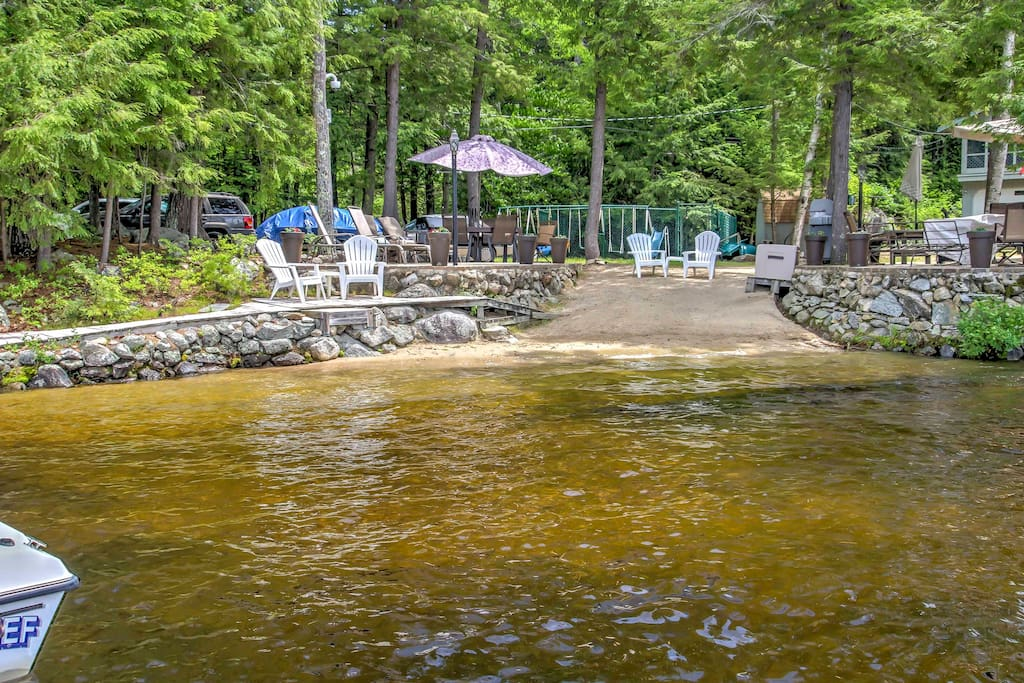 You'll love all the fun activities accessible to you from this property situated right on Lake Winnipesaukee.