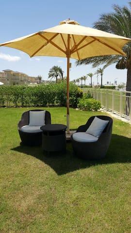 Luxury villa on Egyptian  Mediterranean seafront