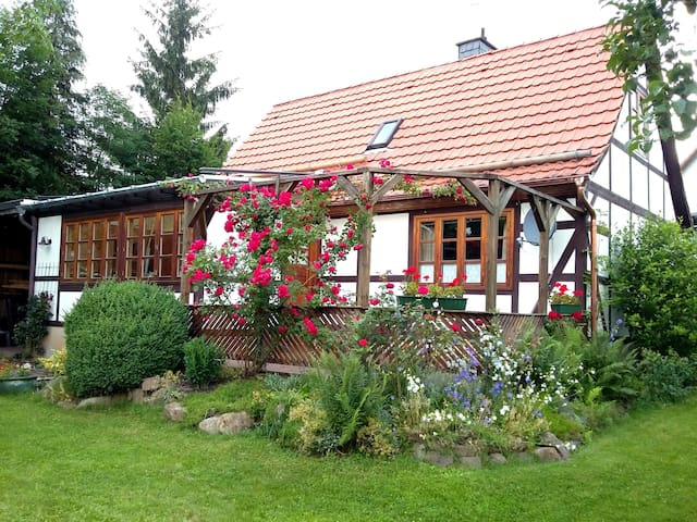 Little gingerbread house, near Hann.Münden, Kassel - Reinhardshagen - Casa