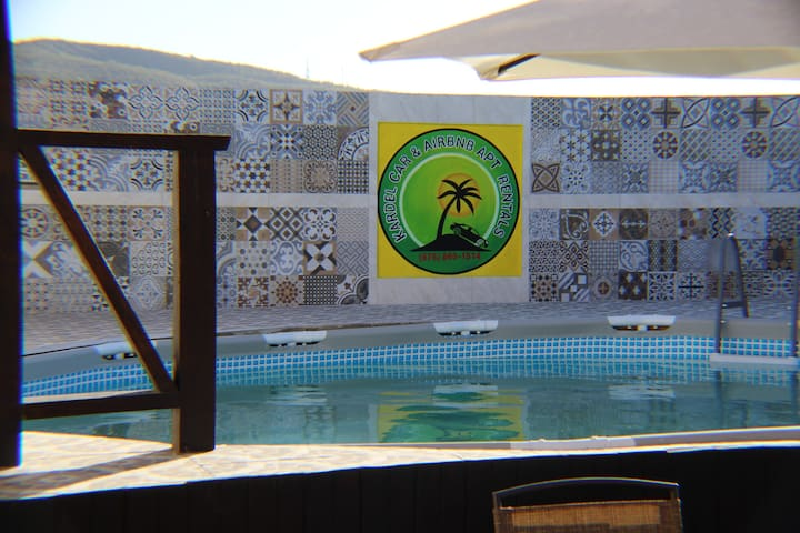 1 Bed, Pool, Gym, Cabana, Pergola & Car Rental E6