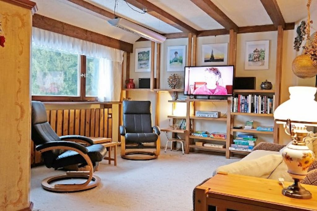 Neu gestaltetes  Wohnzimmer