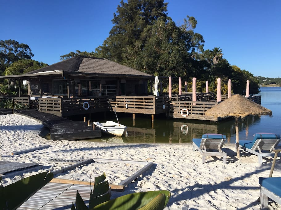 the shack, the bar by the lake