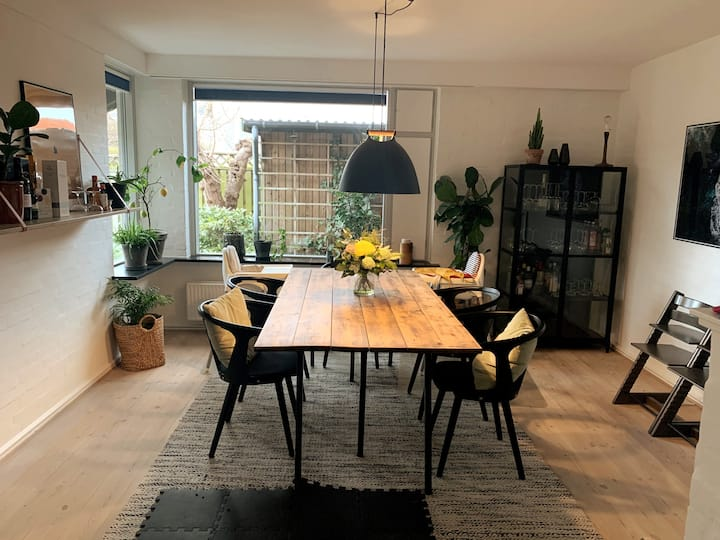 Family villa in Odense, 8 min from city center