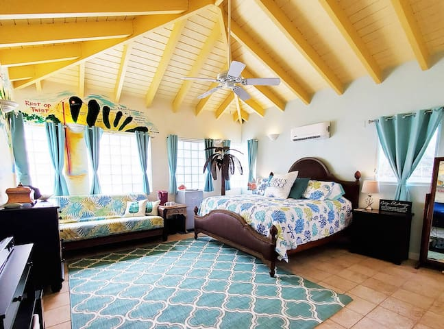 Coral's Edge B&B King Luxury 2BR/1BA St Croix USVI
