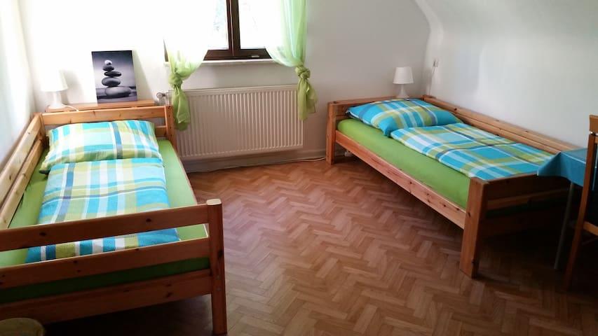 Pension Adrian - Doppelzimmer OG - Reilingen - Gästhus
