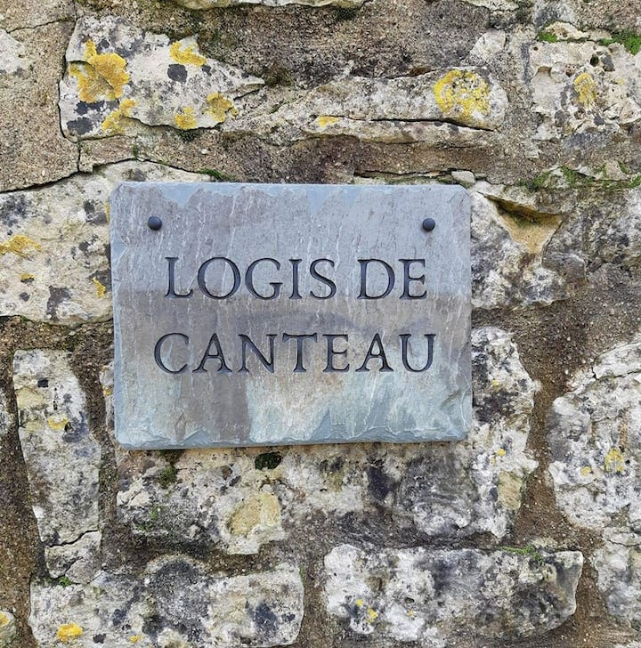 Logis de Canteau: 17th century manor house