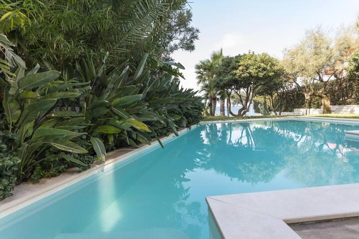Deluxe corpo centrale di B&B di Charme con piscina
