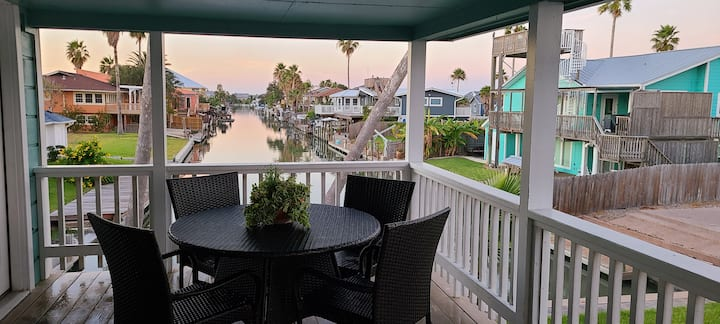 Canal Front w/ private boat dock  & $125k remodel