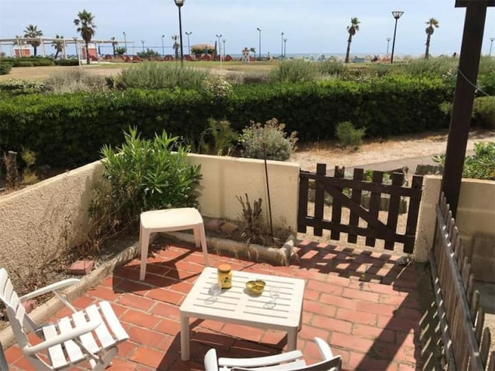 Studio 3 couchages PORT LEUCATE - FR-1-81-127