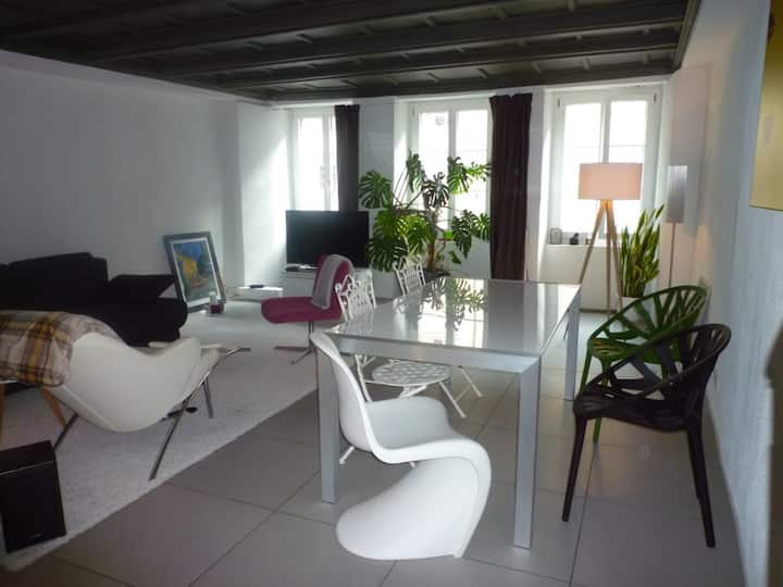 modern apartement in the old town