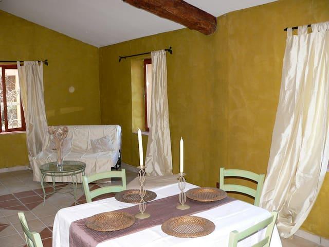 Suite n°2: spacieuse & charmante - Saint-Benoît - Apartamento