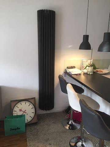 Appartement Schicke Wohnung Garten Barrierefrei