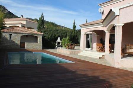 Villa avec piscine à Biguglia proche Bastia - Biguglia - Hus