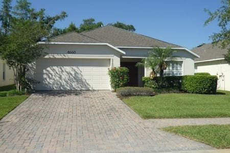 4 Bed / 3 Bath Private Home Near Disney! - Ház