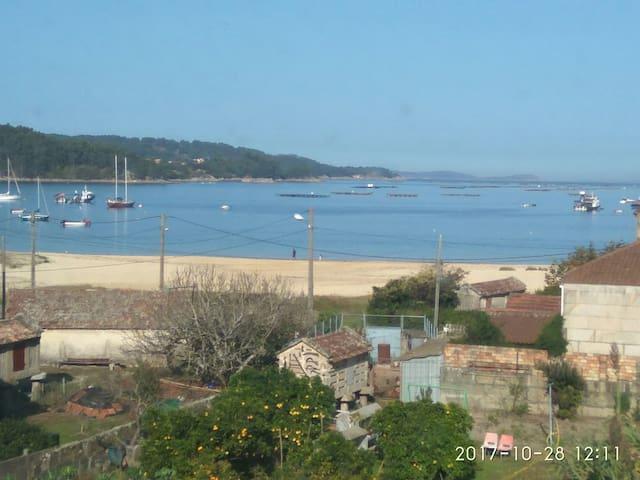 Apartamento en playa de Vilariño