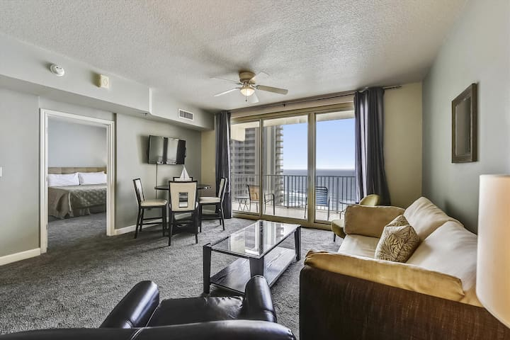 1 Br Condo Sleeps 6, Gulf View, Reserved Parking