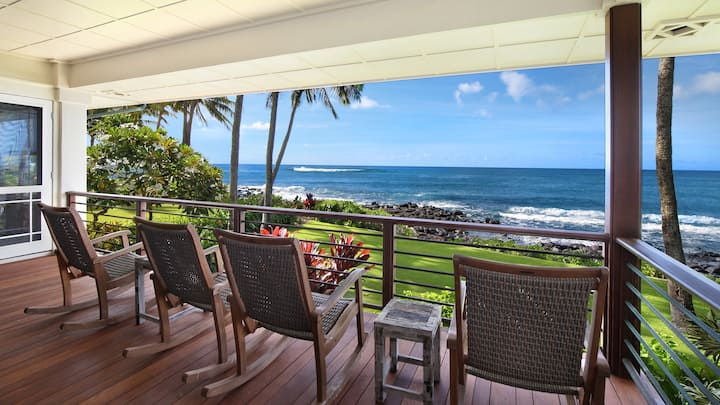 OCEANFRONT VIEWS WITH AIR CONDITIONING-FABULOUS FAMILY LOCATION!
