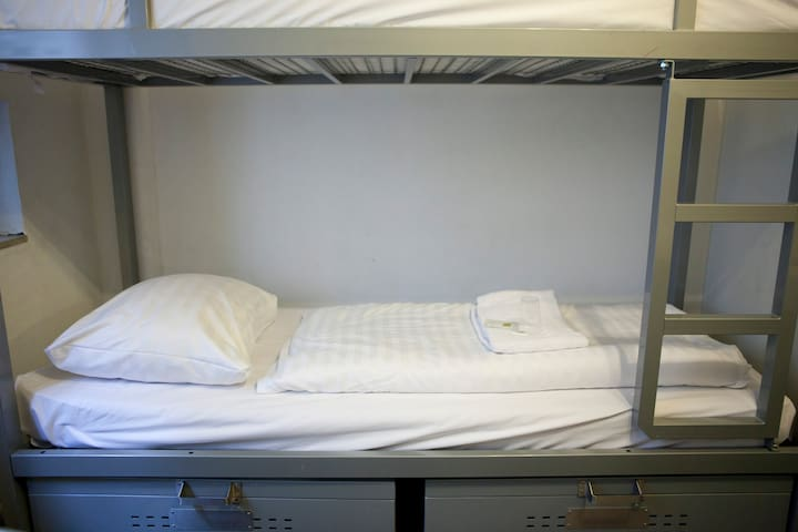 Bed in 8 Bed Dorm Ensuite