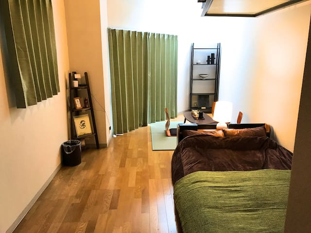 Japanese Modern Room★2min to Subway★Free Massage! - 大阪市 - Huoneisto