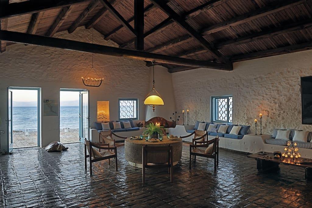 Living Room Area in the Main Villa