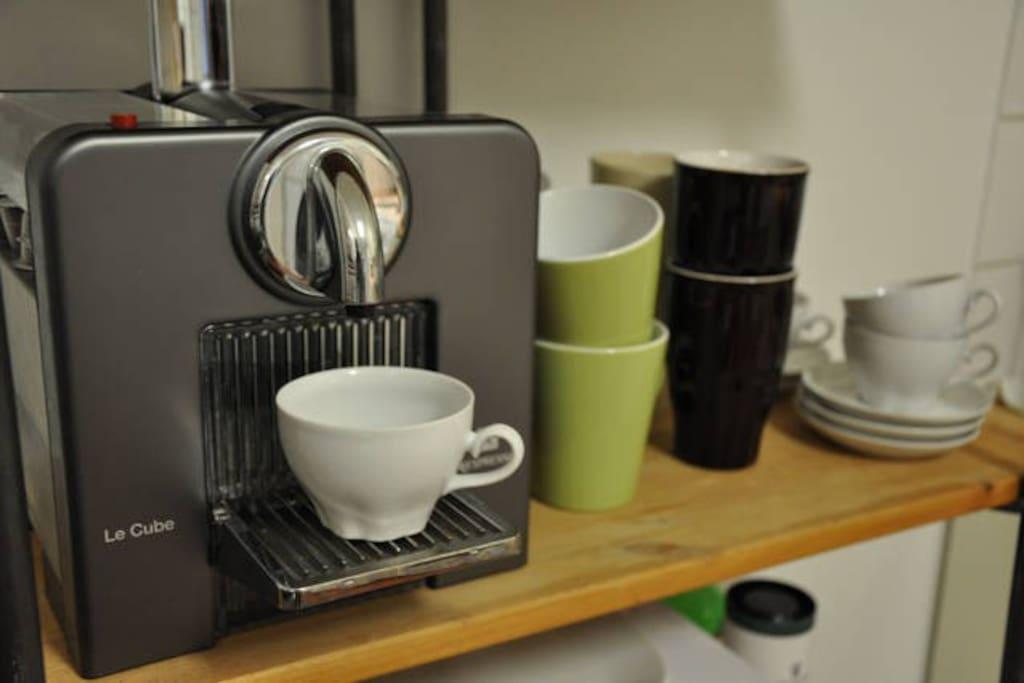 Quality Coffee & espresso machine