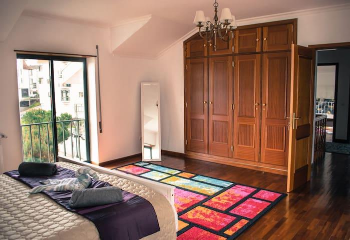 Bedroom 1 with built-in Closet