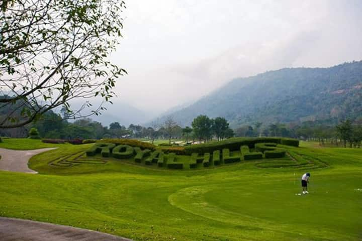 บ้านภูผา, Royal Hills Golf Resort & Spa