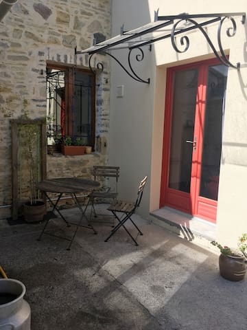 Petite grange rénovée