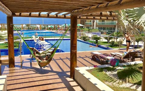 FLAT PRAIA FORTALEZA - Refúgio de férias & Lazer