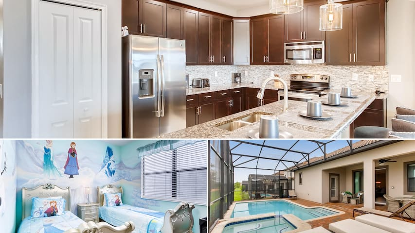 1312BW Gorgeous 5 bed Pool Home! Free BBQ