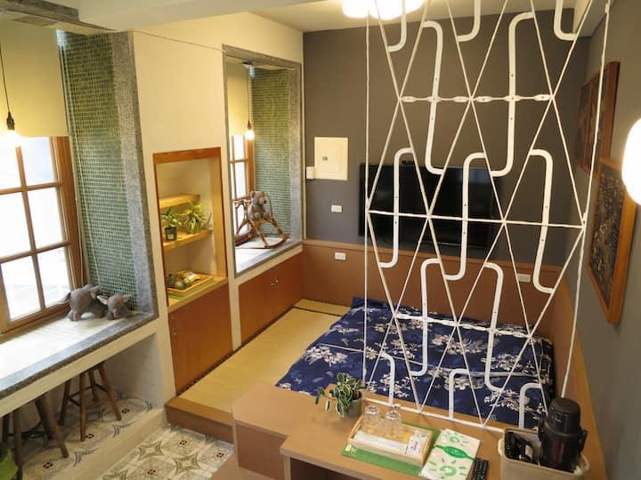 台南民宿,公園吉光~福爾摩沙‧日本(FORMOSA‧JP)